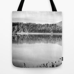 Love the nature. Adventure at the lake Tote Bag by Guido Montañés - $22.00