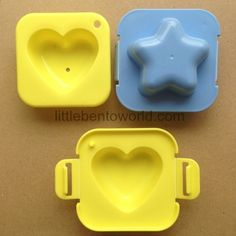 Heart and Star Egg Molds Bento Australia Bento Store, Egg Molds, Silicone Molds, Cookie Cutters, Eggs, Stars, Australia, Food, Essen