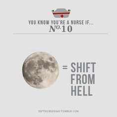 So true...my OB and psyche RN friends claim that more babies are born and more   crazy people are admitted during full moons...Yep!!