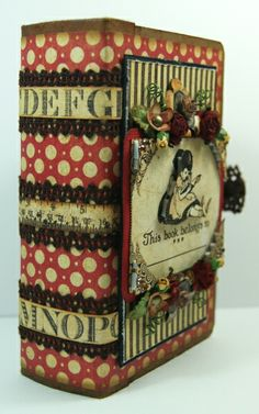 An ABC Primer book box from Andrew Roberts - amazing! Shared on our Ning site!