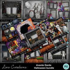 Digital Scrapbooking Kits | Avante Garde Halloween bundle-(LinsCre) | Decorative, Family, Fantasy, Holidays, Holidays - Halloween | MyMemories