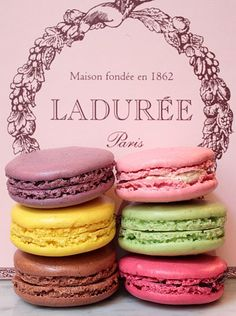 Ladurée - the ones Rian brought me from Paris - really the best ever.