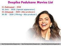 Deepika Padukone Movies List 31 To 34 Deepikapadukone Deepikapadukonemovilist Movie List Movies Deepika Padukone Movies