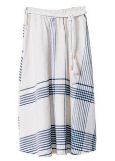 E-shop Jupe En Coton Imprimée Gilly Bleu Antik Batik pour femme sur Place  des 9a9a95faaad