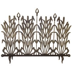 Beautiful fireplace screen / nice motif that could be modified somewhat