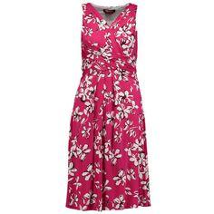 MAX MARA STUDIO Fließendes Kleid 'Nome' ► Das Kleid NOME von MAX MARA STUDIO kommt mit sommerlichem All-Over Print. Dank fließender Viskosequalität schmiegt sich das Model perfekt an den Körper und verleiht mit Wickeloptik am V-Ausschnitt eine elegante Note.