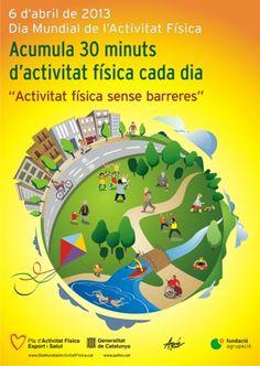 Dia Mundial de l'Activitat Física. Secretaria General de l'Esport. Generalitat de Catalunya