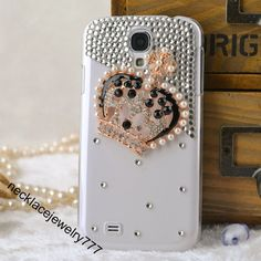For samsung galaxy s4 cases skip covers, crown pearl rhinestone samsung galaxy s4 cases skip covers women men best gift from Boutiquewomensh...