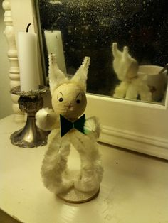 Easterbunny from 1960' Fleas, Snowman, Retro, Outdoor Decor, Vintage, Home Decor, Decoration Home, Room Decor, Snowmen