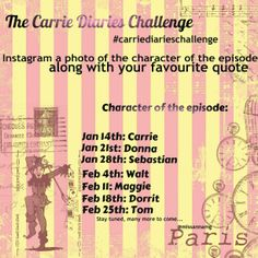 The Carrie Diaries Challenge