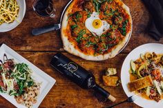 Pitch Pizzeria - West Omaha + Dundee Lemon Garlic Aioli, Garlic Olive Oil, Oven Roasted Tomatoes, Happy Hour Specials, Pizza And More, Wine Fridge, Wine List, Bon Appetit, Pitch