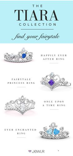Feel like a princess in your own one-of-a-kind tiara ring! Personalized with your choice of metal, birthstones and engravings, these rings are the perfect way to make yourself or someone you love feel like royalty.