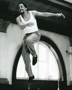 Gregory Hines in White Nights (photos via Dance Magazine Archives) Tap Dance, Dance Art, Ballet Dance, Bolshoi Ballet, Shall We Dance, Lets Dance, Friedrich Nietzsche, Body Painting, Gregory Hines