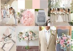 pink gray and blue wedding decor - Google Search