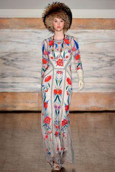 Temperley London F/W 2012, London Fashion Week