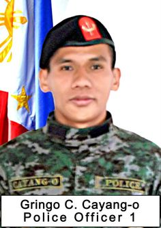 PO1 Gringo Charag Cayang-o __ #Fallen44 .. Nothing but a broken heart 01-30-15