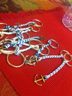 nautical keychain- could give as an enhancement for a cruise wish