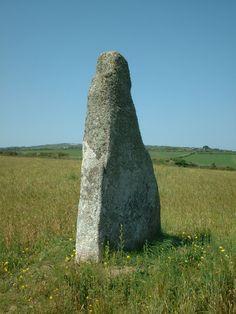The Blind Fiddler, standing stone.