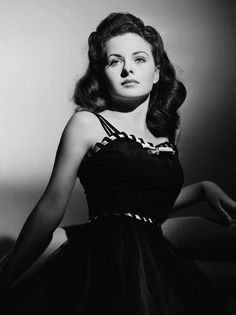 Jeanne Crain, 1940s © Frank Powolny.