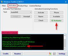 Activer Windows et Office via Microsoft Toolkit