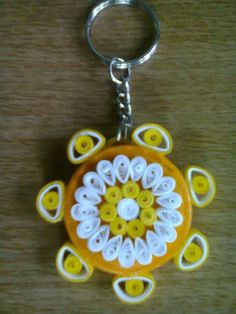 / Quilling Keychains, Quilling Earrings, Quilling Jewelry, Paper Jewelry, Paper Beads, Quilling Animals, Quilling Designs, Paper Quilling, Hobbies And Crafts