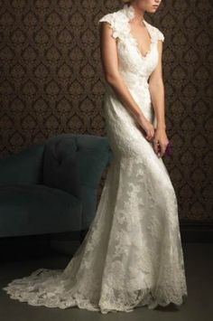 Two-piece Lace Wedding Dresses - CharmingGowns.com