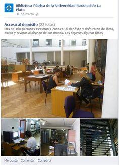 Facebook y bibliotecas
