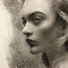 Instagram media by caseybaugh - Textures and form. Detail shot of new charcoal on paper (model - @ida_dyberg )