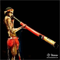 Developed over 1500 years ago, Didgeridoo is a wind instruments played by the #Aborigines tribe in #Australia