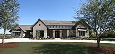 Dallas Home Hill Country Design, Pictures, Remodel, Decor and Ideas – page 4 - Home & DIY Hill Country Homes, Country House Plans, Country Style Homes, Country Houses, Texas Hill Country, Texas Style Homes, Ranch Style Homes, Ranch Style Decor, Modern Ranch