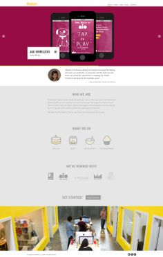 Bakery Interactive | Flat Inspire