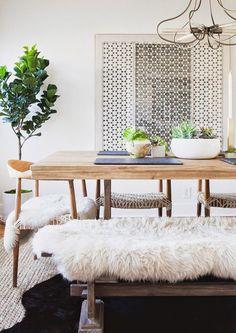 Dreamy dining room.