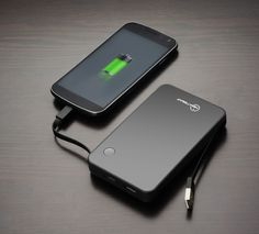 NewTrent | Palmbook Triple Port charger - 7000mAh for both NEW iPad and iPhone 5. Already have 2 from Enenergizer for my Samsung Gaxaly II. And they work wonders!!!