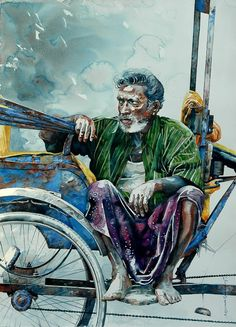 Indian Watercolor Artist-