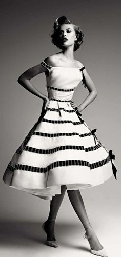 "Dior - great dress if you have an 18"" waist!"