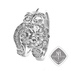 Part of the Bridal Signature Series - Hand crafted ring - Uses the latest gold smith technology - Meticulous craftsmanship and attention to detail - Manufacturing processing time for FERI MOSH Bridal Signature Series is weeks Gold And Silver Rings, Silver Engagement Rings, Bridal Rings, Design Development, Wholesale Fashion, Our Wedding, Wedding Bells, Bridal Collection, Processing Time