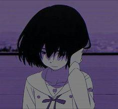 Deal With Depression And Anxiety Sad Anime Girl, Anime Art Girl, Manga Girl, Manga Anime, Kokoro Ga Sakebitagatterunda, Anime Triste, Sad Art, Sad Girl Art, Anime Profile