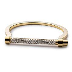 Bracelet Screw de Miansai en or jaune et diamants