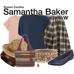 Inspired by Molly Ringwald as Samantha Baker in 1984's Sixteen Candles.