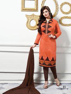 Cotton Indian Salwar Kameez Unstitch 100% Cotton Churidar Shalwar Kameez Suit 20 #OdInParis #Casual