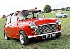 Vintage Red Mini Cooper #mini #minicooper Retro Cars, Vintage Cars, My Dream Car, Dream Cars, Classic Mini, Classic Cars, Red Mini Cooper, Mini Morris, Mini Lifestyle