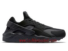 07095460c5 Nike Air Huarache (Nike Urh) Homme triple-black 318429_003 Nike Air Max Tn