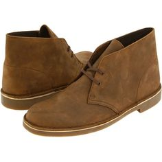 Clarks Bushacre II (Beeswax Leather) Men's Lace-up Boots (210 BRL) ❤ liked on Polyvore featuring men's fashion, men's shoes, men's boots, brown, clarks mens shoes, mens shoes, mens brown leather lace up boots, mens lace up shoes and mens long boots