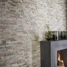 Plaquette de parement pierre naturelle beige Magrit | Leroy Merlin