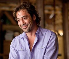 "Javier Bardem BEST movie line ever: ""You don't need a man, you need a champion""."