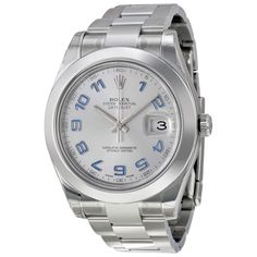 Rolex Men's Datejust II Rhodium Dial Watch
