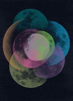 Moon / Sacred Geometry <3