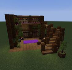 A small hillside house. A small hillside house. Minecraft Room, Minecraft Plans, Cool Minecraft Houses, Minecraft Tutorial, Minecraft Blueprints, Minecraft Crafts, Minecraft Furniture, Minecraft Buildings, Minecraft Log Cabin