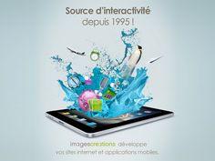 Agence de communication digitale depuis 1995 (Sites web et applications mobiles) : www.imagescreations.fr #Nantes
