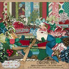 Peppermint Creative - Christmas Past Kit  $8.00